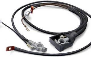 Провода для соединения аккумуляторов
