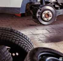 Замена колес на автомобиле на зиму