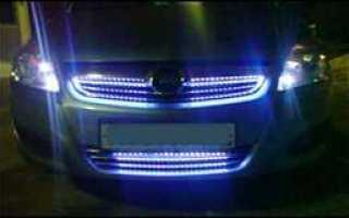 Моргают светодиоды в машине