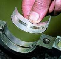Замена вкладышей коленвала не снимая двигатель