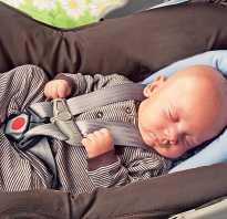 Люлька для новорожденных в машину
