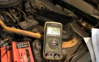 Определить степень заряда аккумулятора по напряжению