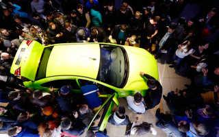 Продажи автомобилей в апреле