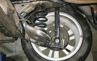Люфт ступицы заднего колеса