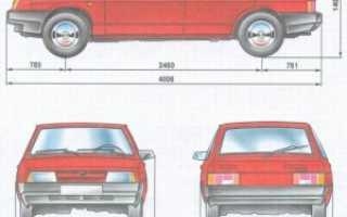 Кузов автомобиля ваз 2109