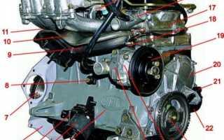 Устройство двигателя нива 21214