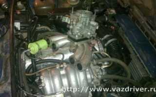 Переделка двигателя ваз 2106 на инжектор