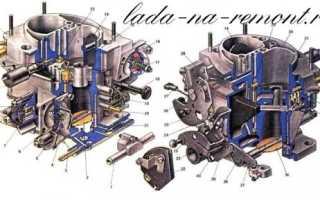 Устройство карбюратора ваз 2109 солекс