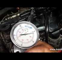 Проверка компрессии в цилиндрах двигателя видео