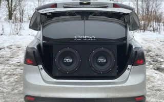 Подключение музыки в машине