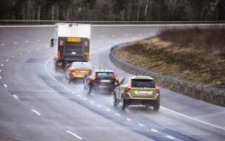 Обгон двух и более транспортных средств