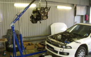 Кузовной ремонт в гараже