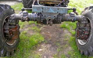 Ремонт переднего моста трактора мтз 82