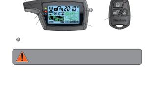 Сигнализация пандора что означают значки на брелке