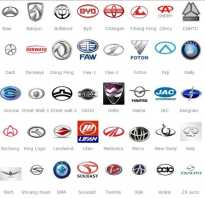 Знаки автомобильных марок с названиями
