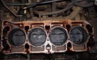 После замены прокладки гбц двигатель не заводится