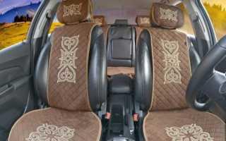 Меховой чехол на сиденье автомобиля своими руками