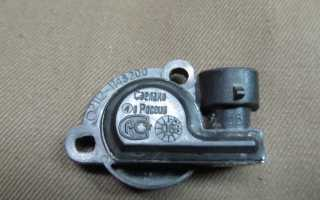 Проверка датчика дроссельной заслонки мультиметром
