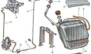 Схема перекачки топлива уаз буханка