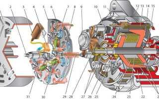 Электросхема генератора ваз 2110