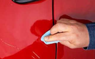 Чем заделать царапины на машине своими руками