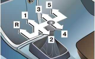 Привод механизма переключения передач