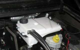Рабочее давление в системе охлаждения двигателя