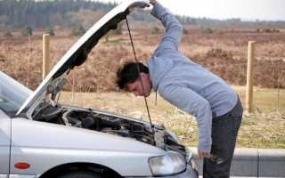 Что делать если машина глохнет на ходу