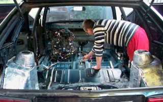 Шумоизоляция авто ваз 2114 своими руками
