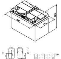 Размеры акб для авто таблица