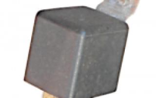 Реле замка зажигания ваз 2109 карбюратор