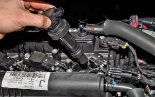 Свеча мокрая двигатель троит