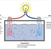 Десульфатация аккумулятора своими руками схема