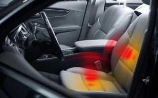 Подогрев сидений для авто своими руками