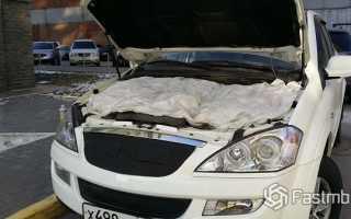 Утепление двигателя автомобиля зимой
