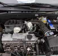 Лада калина технические характеристики двигателя