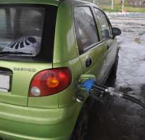 Daewoo matiz расход топлива на 100 км
