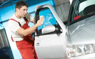 Полировка стекол автомобиля от царапин своими руками