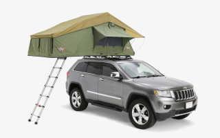Палатка на крышу транспортера