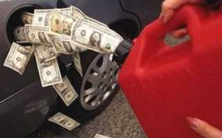 Почему машина жрет бензин