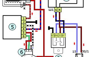 Схема бесконтактного зажигания ваз 2107 карбюратор