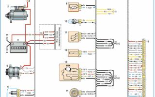 Электрическая схема нива шевроле 2004