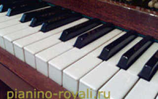 Тюнер для настройки пианино через микрофон