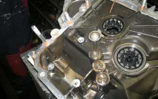 Моторное масло в механическую коробку передач