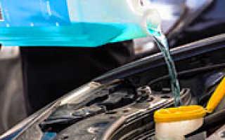Правильная замена охлаждающей жидкости
